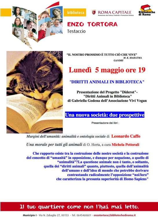 Locandina diritti animali