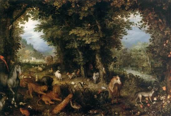 1630ca Allegoria Della Terra Bruegel 'Il Giovane' Jan